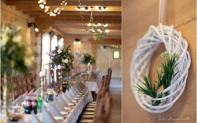 Dekoracje weselne w Szlachetnym Dworze
